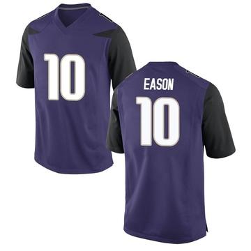 Men's Jacob Eason Washington Huskies Game Purple Football College Jersey
