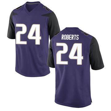 Men's Nate Roberts Washington Huskies Nike Game Purple Football College Jersey