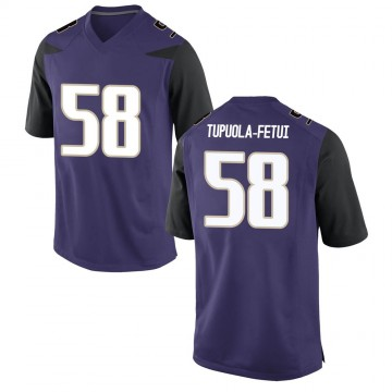 Men's Zion Tupuola-fetui Washington Huskies Nike Replica Purple Football College Jersey