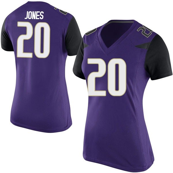 Women's Ty Jones Washington Huskies Nike Replica Purple Football College Jersey