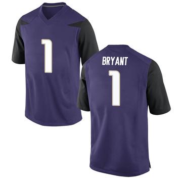 Youth Hunter Bryant Washington Huskies Nike Game Purple Football College Jersey