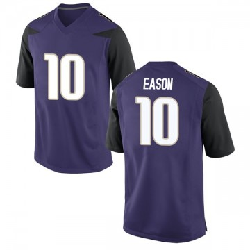 Youth Jacob Eason Washington Huskies Game Purple Football College Jersey