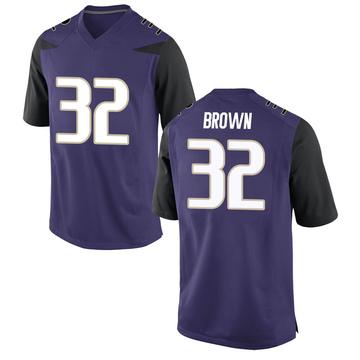 Youth Triston Brown Washington Huskies Nike Replica Purple Football College Jersey