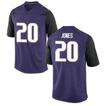 Youth Ty Jones Washington Huskies Nike Game Purple Football College Jersey